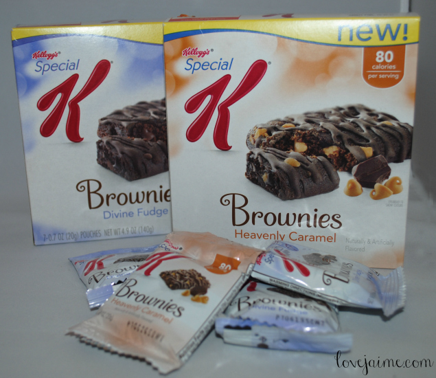 Special K Brownies - perfect chocolate snack with only 80 calories!
