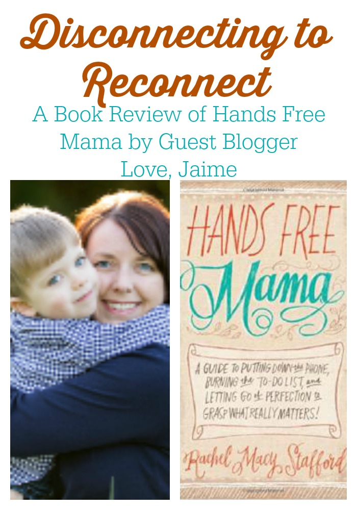 Disconnecting to reconnect…a guest post