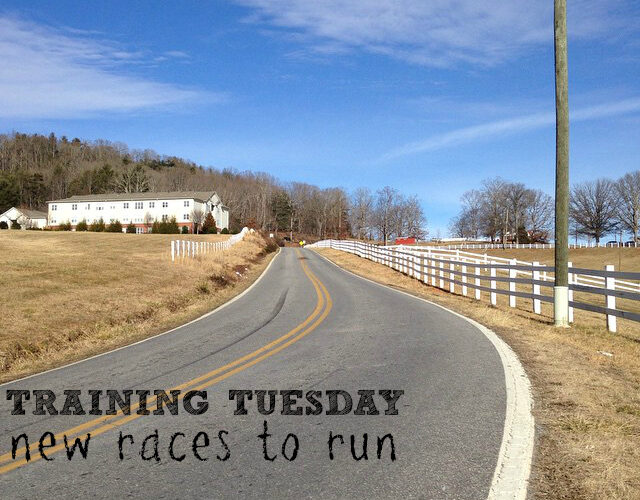 Training for races! Deadlines in place! #TrainingTuesday