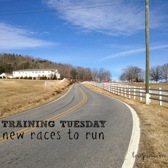 Training Tuesday: Training for 2015 races.
