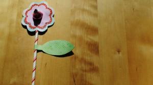 Cute flower Valentines for kids #diy #crafts
