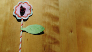 Cute flower Valentines for kids #diy #crafts