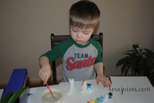 (Almost) Wordless Wednesday: Fun with Painting #WordlessWednesday