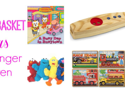 Easter basket ideas for younger children. #Easter #gifts #kids
