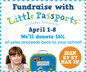Fundraise for your child's school with @LittlePassports!
