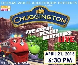 Chuggington Live! Coming to an arena near you…. #avlfun #avl #ChuggingtonLive