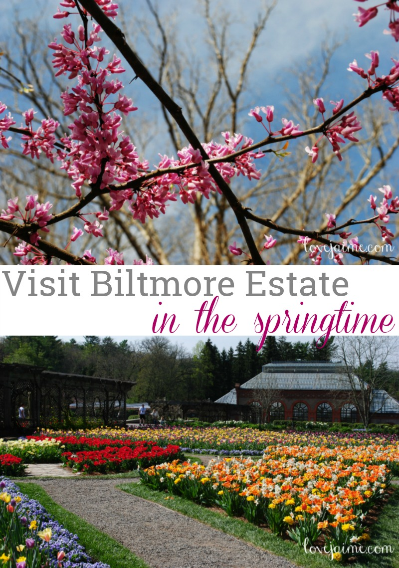 Visit Biltmore Estate in the spring!