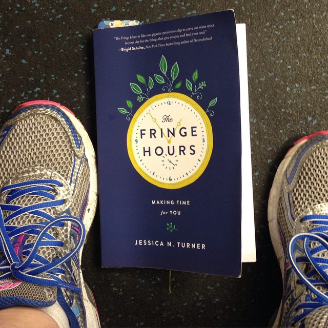 I also read The Fringe Hours at the gym. Wherever I could possibly read it, I did it.