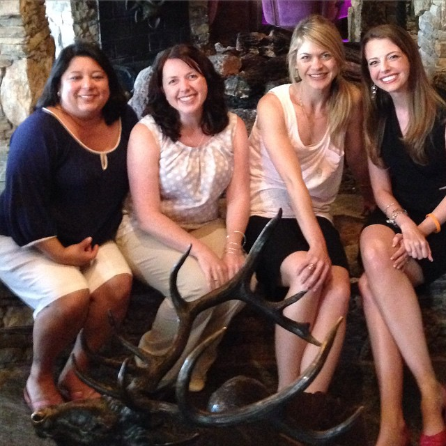 Blogging friends are the best friends.