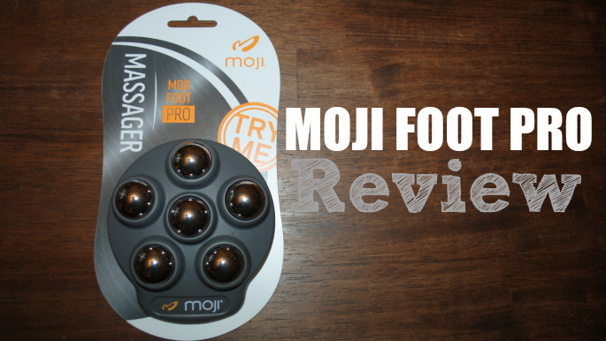 Relief for aching feet in the Moji Foot PRO #giveaway @gomoji