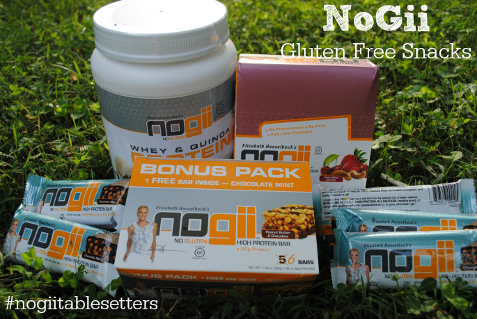 Review: NoGii (no gluten!) bars #nogiitablesetters #MomsMeet