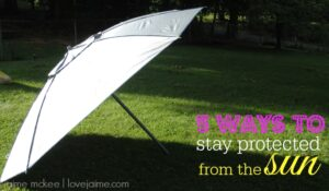 Tips to help protect yourself from the sun #summertime #sunprotection