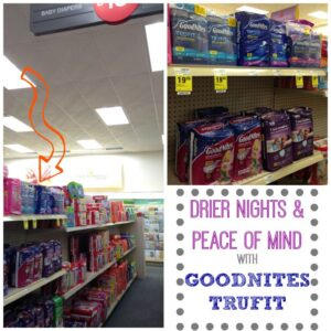 Drier nights with GoodNites TruFit and a few potty training tips #ConfidentKids #CollectiveBias #ad