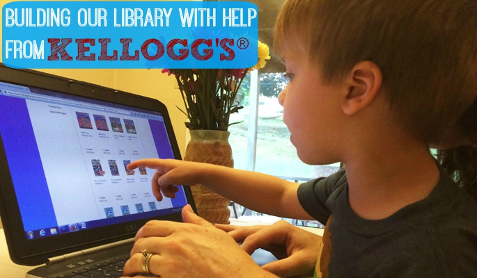 Build a classroom library with the help of Kellogg's #Back2SchoolReady #CollectiveBias #ad