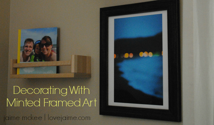 Decorating with Minted framed art #review @Minted
