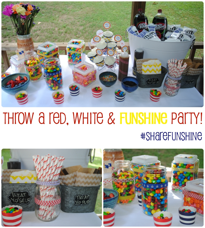 Throw your best Red, White & Funshine party! #ShareFunshine #CollectiveBias #ad