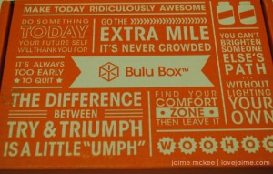 Introducing…Bulu Box #LoveBulu @bulubox @fitapproach #sweatpink