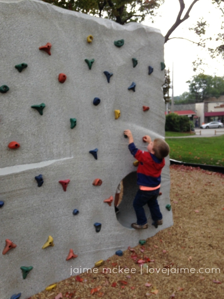 Friday5_climbingwall