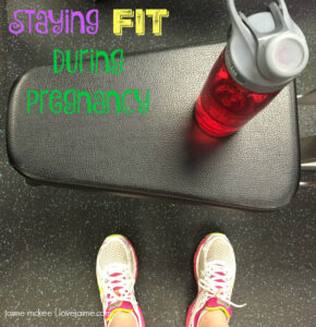 Staying fit while pregnant #fitness #fitpregnancy