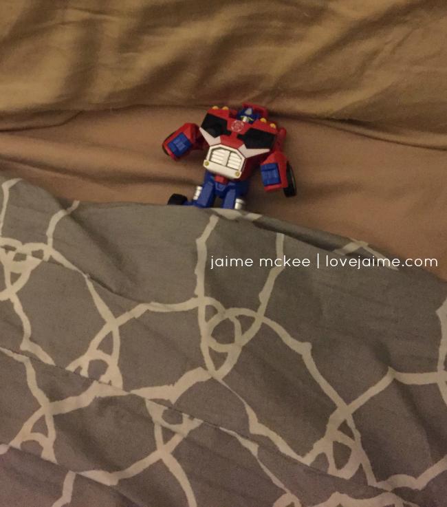 transformer-in-bed