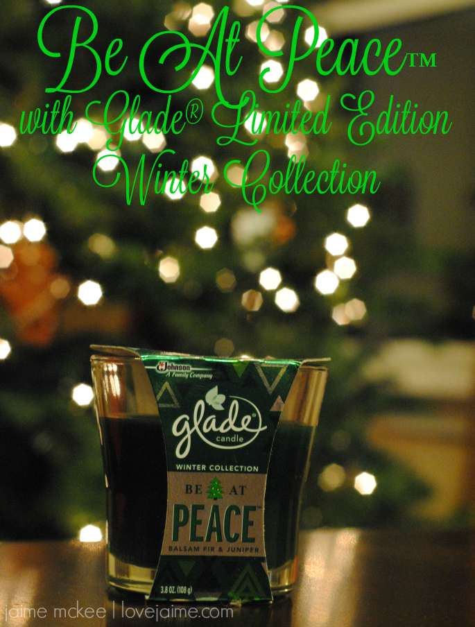 Celebrating holiday memories with the Glade® Limited Edition Winter Collection #HolidayWithGlade
