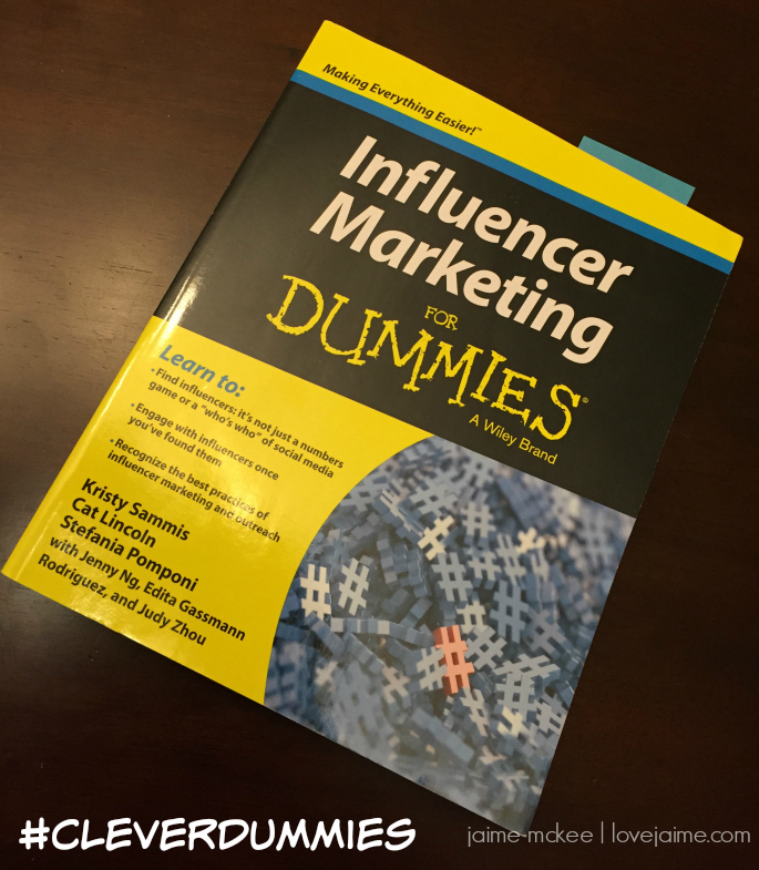 Influencer Marketing for Dummies review + giveaway #CleverDummies