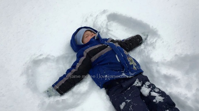 Snow day! {week 81} #SOC #blogging #snow #freewriting