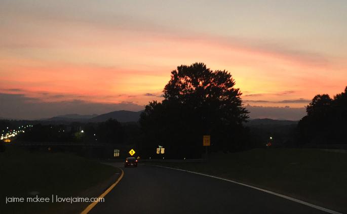typea-summit-sunset
