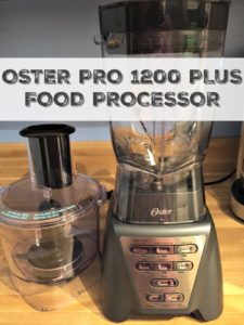 Smoothies all around! Reviewing the Oster Pro 1200 Plus Food Processor #MomsMeet