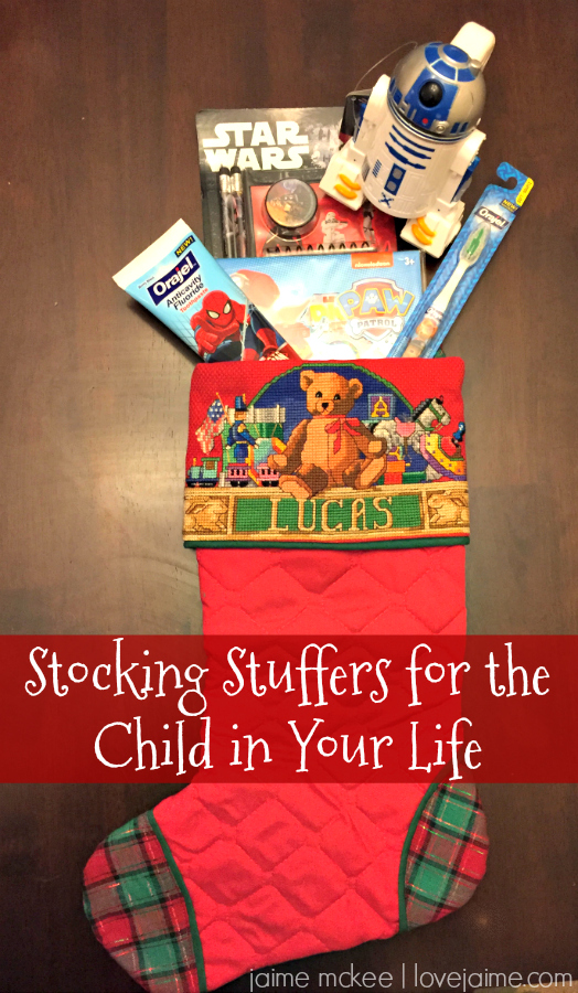 Stocking stuffers for kids #smilehood #ad