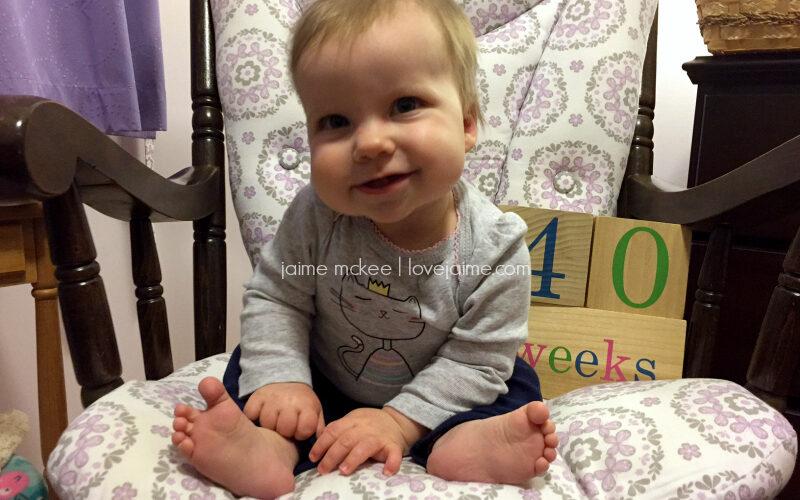 40 weeks {baby update}