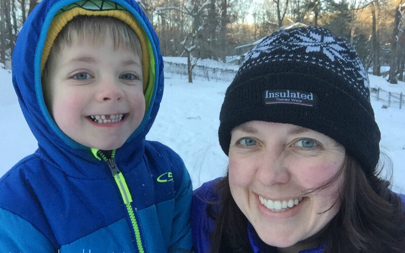 Mommy & Me Monday: Snow edition!