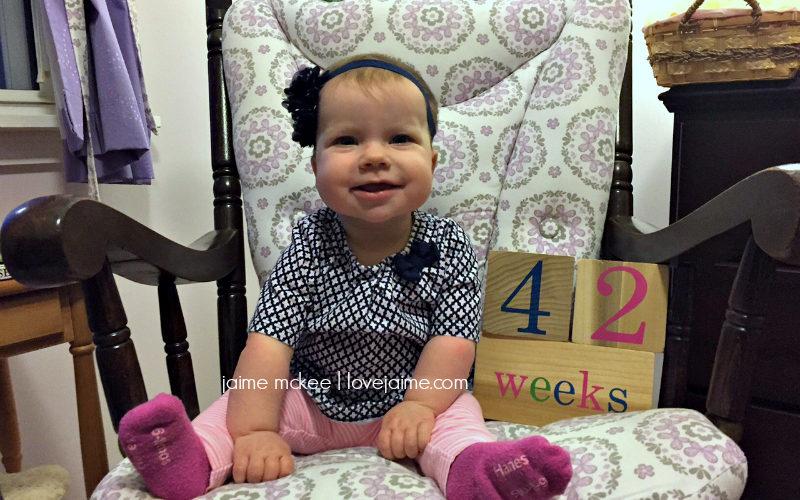 42 weeks {baby update}