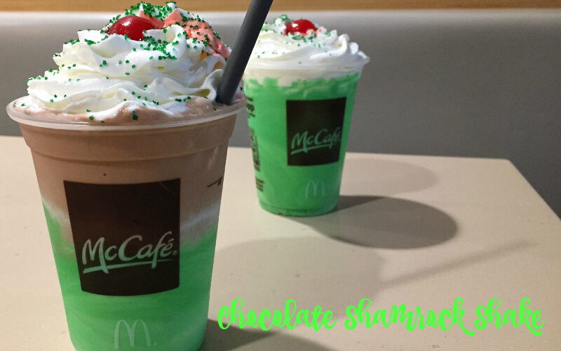 Shamrock Shakes are back – with a twist (and a limited edition STRAW) #giveaway