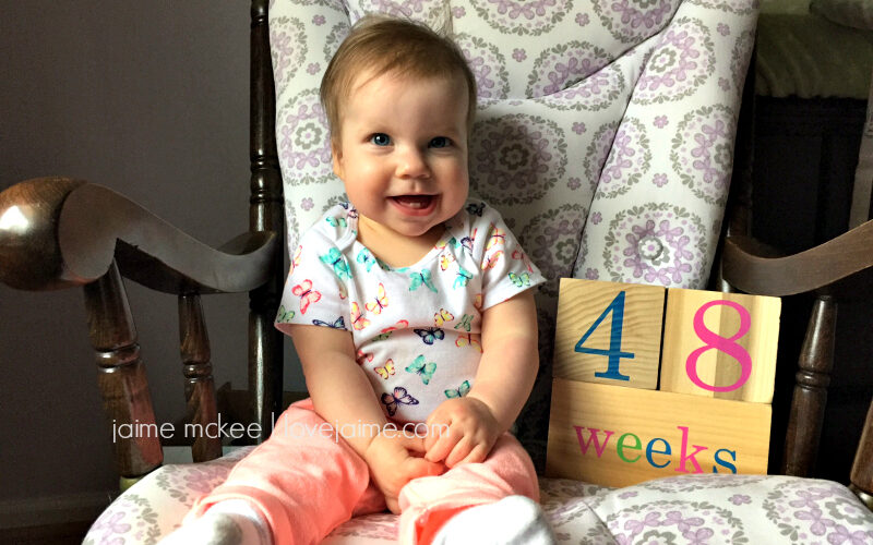 48 weeks {baby update}