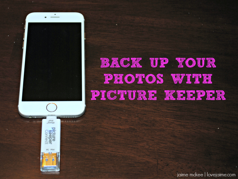 Back up your photos with Picture Keeper #PictureKeeper #ThatsAKeeper #ad