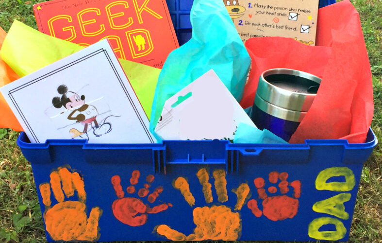 Gift dad this DIY Father's Day toolbox #CelebrateAllSummer #ad