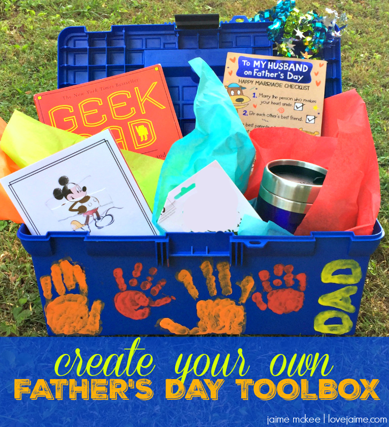 Gift dad this DIY Father's Day toolbox #CelebrateAllSummer ...