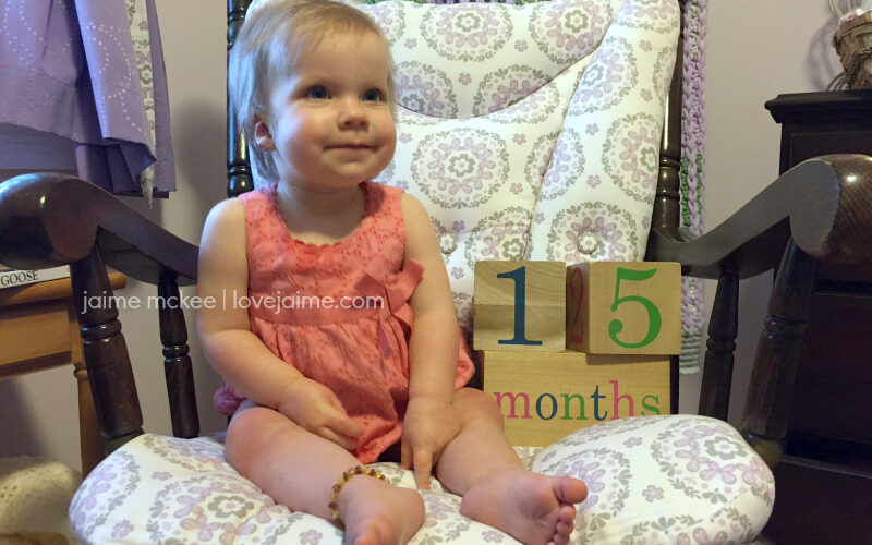 15 months {baby update}