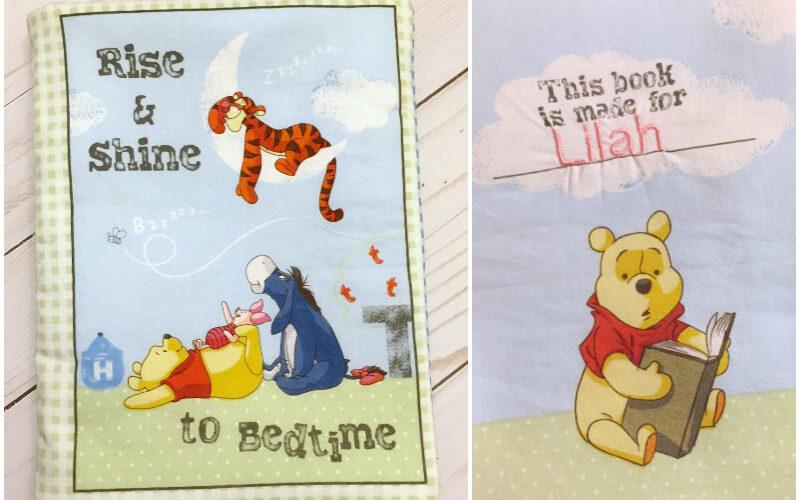 Crafty Destash: Easy to Sew Winnie the Pooh Cloth Book