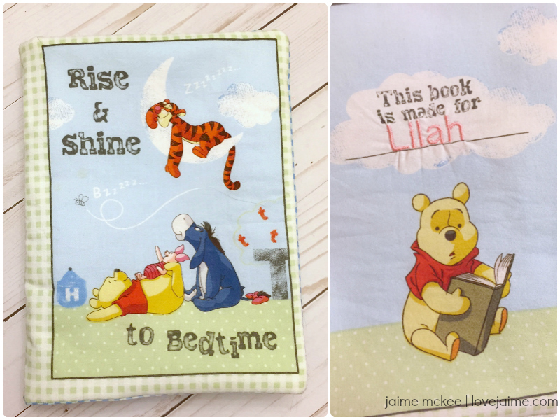 Crafty Destash: Easy to Sew Winnie the Pooh Cloth Book