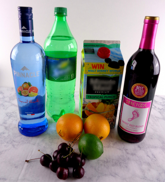 Cherry Citrus Sangria recipe