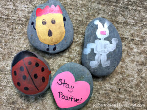 Tips and tricks for painted rocks