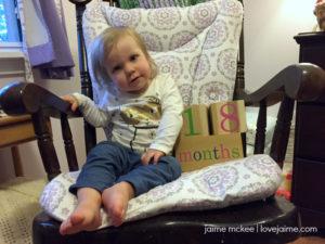 18 months {baby update}