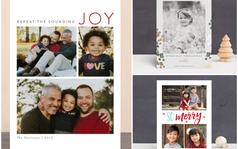 3 styles of holiday cards to check out from @Minted #ad