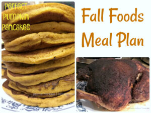 Menu planning – fall edition