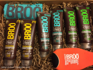 Beer DOES make everyone better looking – BRÖÖ Shampoo & Conditioner review #MomsMeet #ad #giveaway