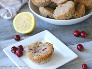 Recipe: (Healthy) Cranberry Lemon Muffins