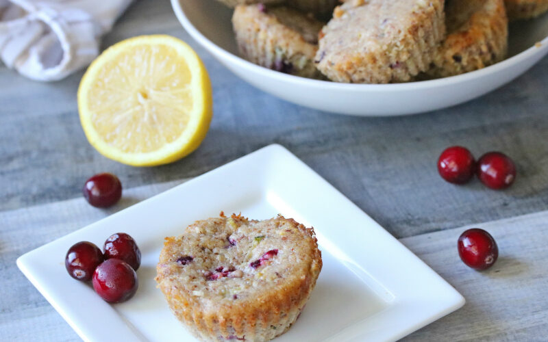 Recipe: (Healthy) Cranberry Lemon Muffins
