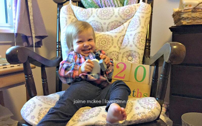 20 months {baby update}